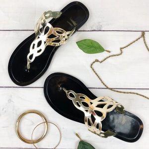 Fergalicious by Fergie Gladiator Sandals Size 10